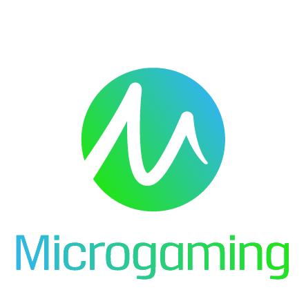 Microgaming logo white